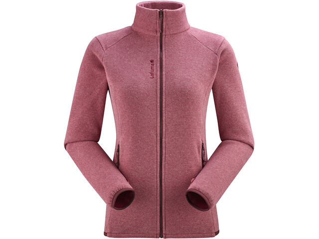 Lafuma Techfleece Full-Zip Jacket Women, carmin red